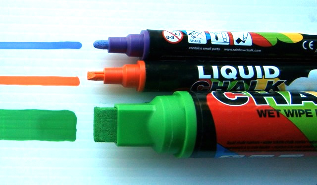 How To Use Liquid Chalk Pens