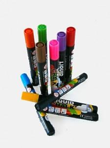 5mm Liquid Chalk Pens Cluster